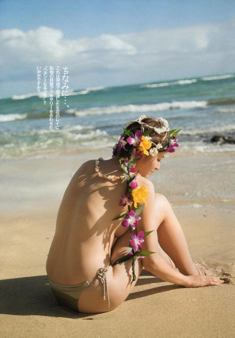 【鈴木ちなみビキニ画像】美人ファッションモデルのグラドルにも負けないセクシーなエロ水着姿 64