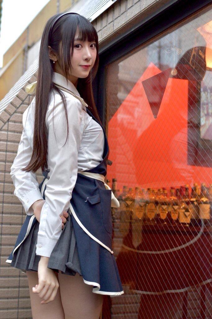 【真島なおみエロ画像】ドール系美少女と呼ばれるスタイル抜群な9頭身の高身長グラビアアイドル 40