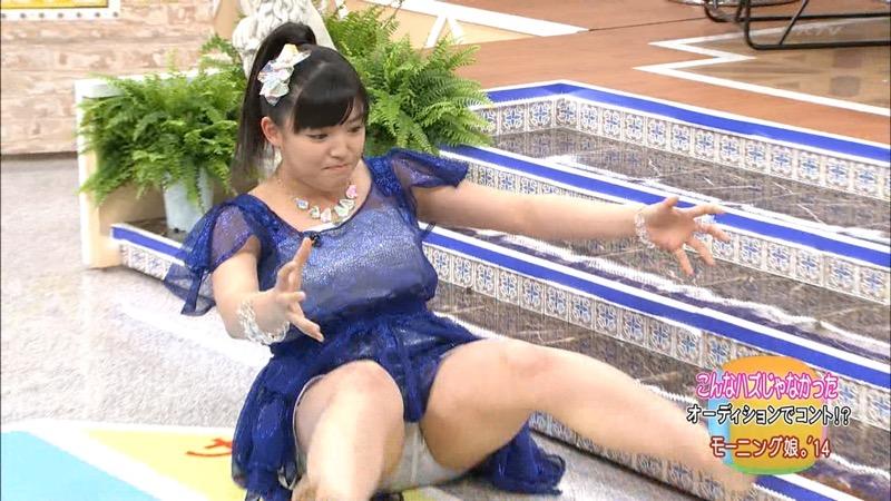 【モーニング娘。お宝画像】ステージやバラエティで大股を開いちゃったアイドル達のエロショット! 71