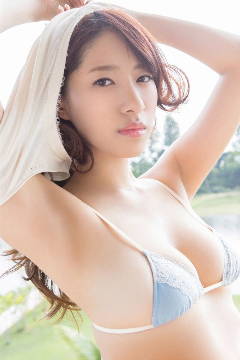 【染谷有香グラビア画像】処女である事を公言してしまったGカップ巨乳のグラビアアイドルwwww 45