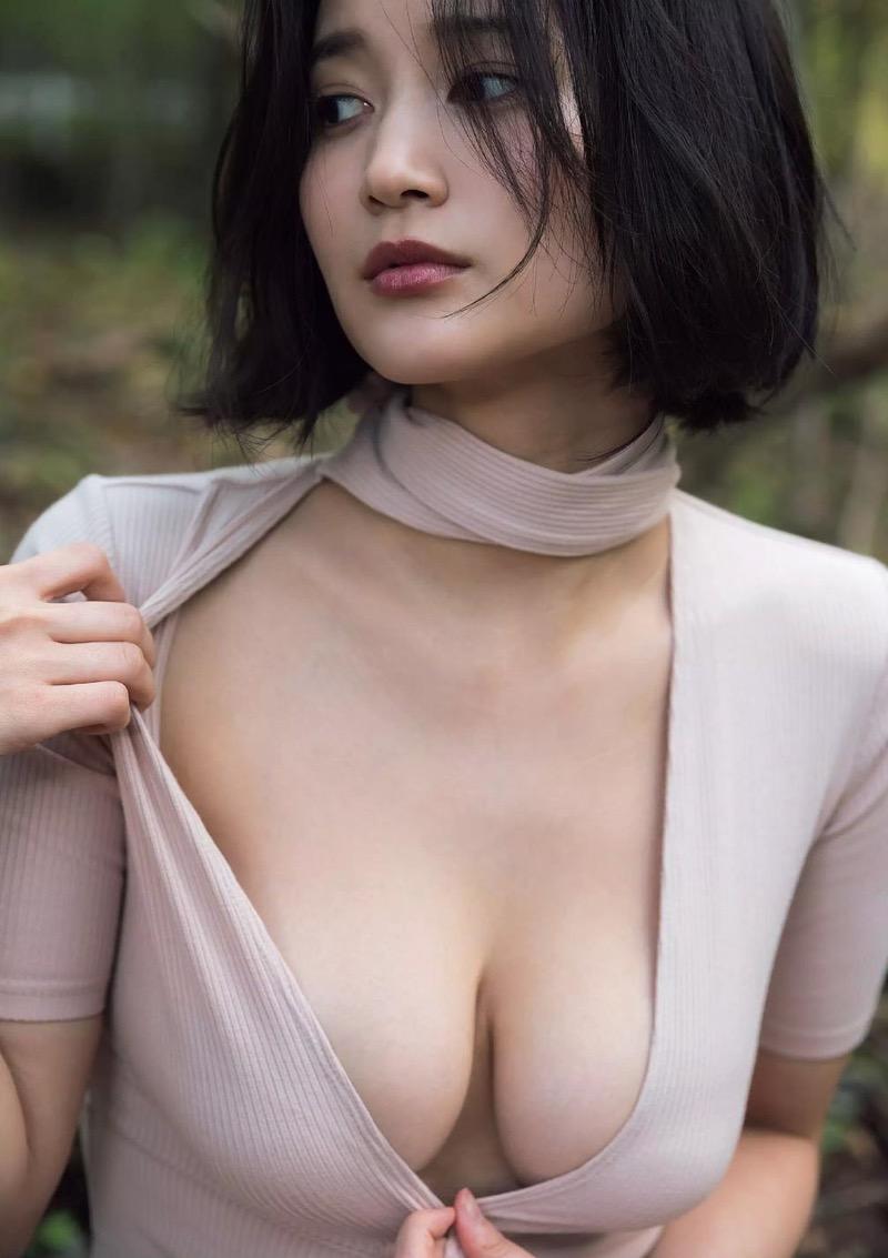 【出口亜梨沙グラビア画像】Gカップの巨乳過ぎるレポーターとして注目を浴びたグラビアアイドル 74