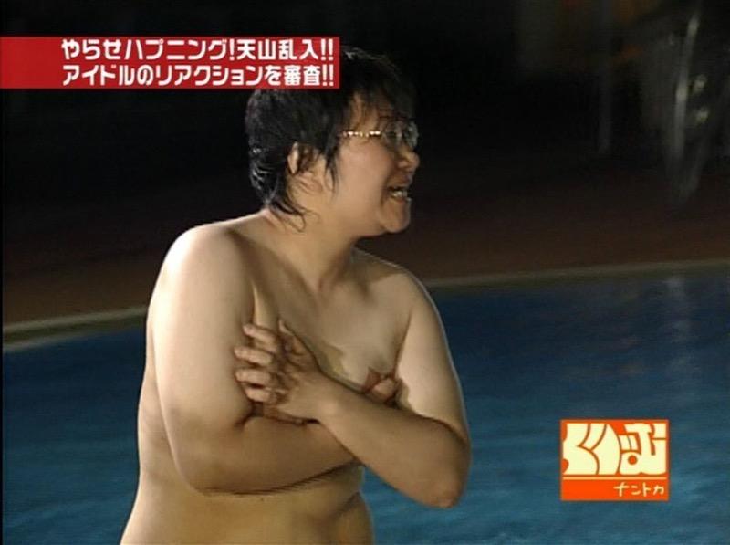 【放送事故画像】女優やタレントそしてお笑い芸人がテレビ放送で見せちゃったオッパイとセックス画像 31