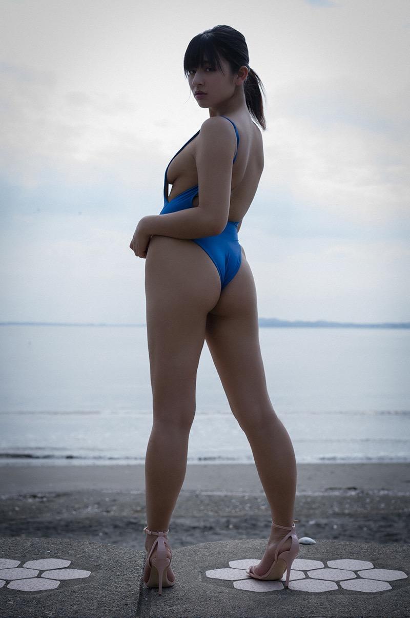 【徳江かなエロ画像】異例のスピードでファースト写真集を発売したグラドル界で期待のホープ! 58