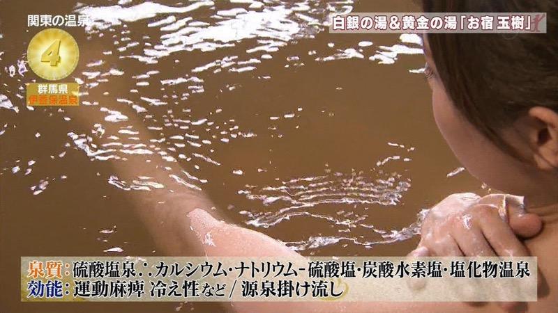 【温泉キャプ画像】アド街ック天国とかいう温泉や海で露出サービスしまくるエロ番組wwww 20