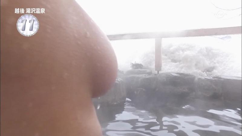 【温泉キャプ画像】アド街ック天国とかいう温泉や海で露出サービスしまくるエロ番組wwww 28