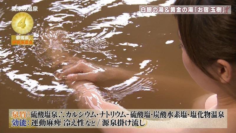 【温泉キャプ画像】アド街ック天国とかいう温泉や海で露出サービスしまくるエロ番組wwww 41