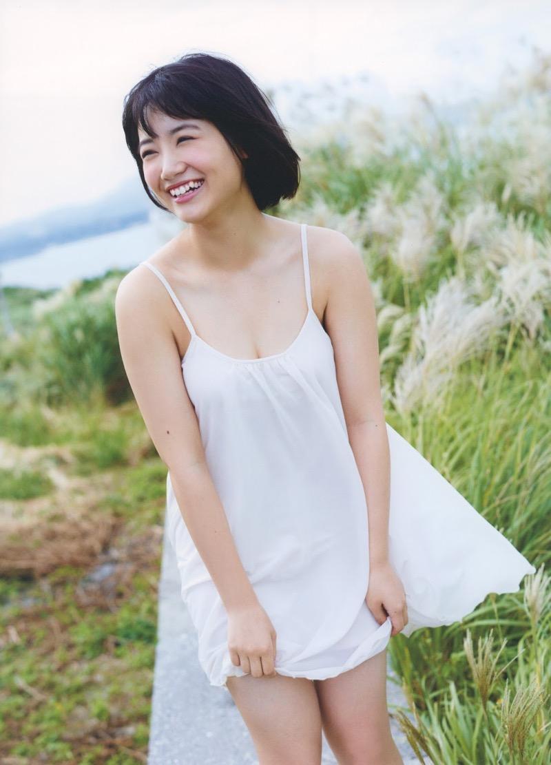 【朝長美桜グラビア画像】天使のように可愛らしい笑顔とショートヘアがとっても良く似合う美少女アイドル 69