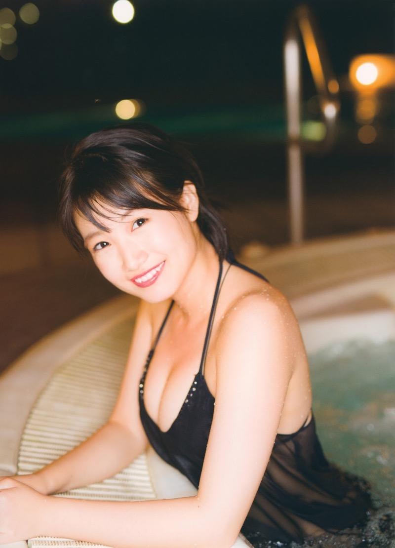 【朝長美桜グラビア画像】天使のように可愛らしい笑顔とショートヘアがとっても良く似合う美少女アイドル 71