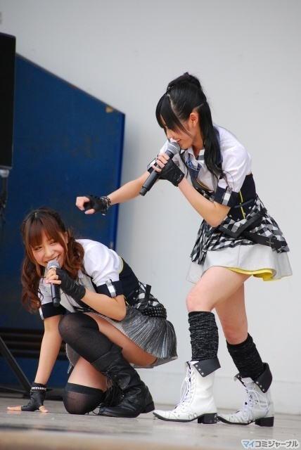 【AKB48放送事故画像】アイドルっていつでもどこでもエロいハプニングを期待されて大変だなぁw 04