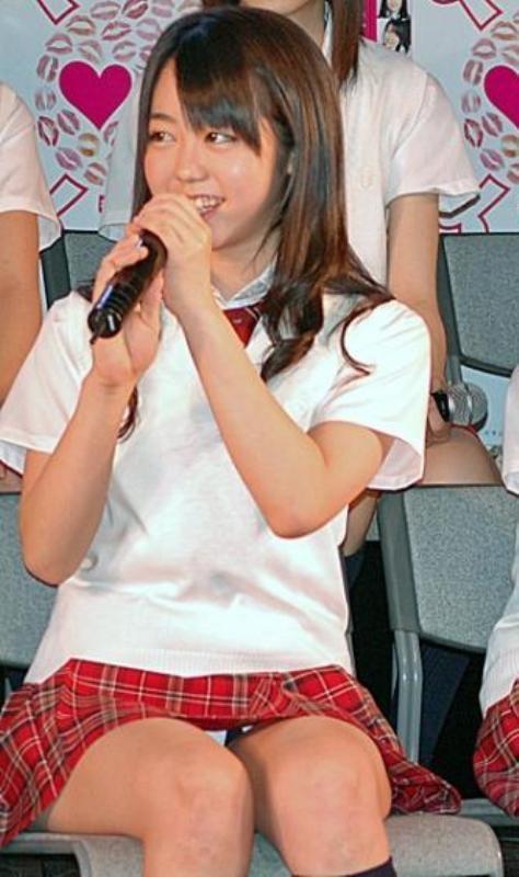 【AKB48放送事故画像】アイドルっていつでもどこでもエロいハプニングを期待されて大変だなぁw 06