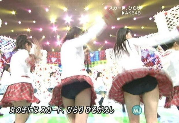 【AKB48放送事故画像】アイドルっていつでもどこでもエロいハプニングを期待されて大変だなぁw 21