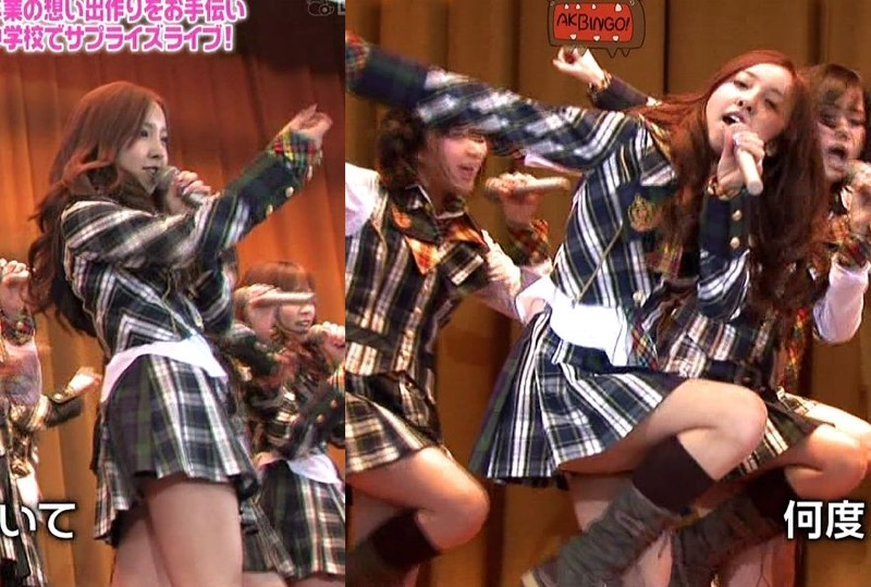 【AKB48放送事故画像】アイドルっていつでもどこでもエロいハプニングを期待されて大変だなぁw 26