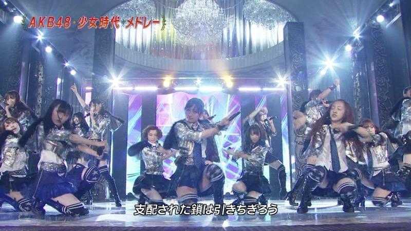 【AKB48放送事故画像】アイドルっていつでもどこでもエロいハプニングを期待されて大変だなぁw 37
