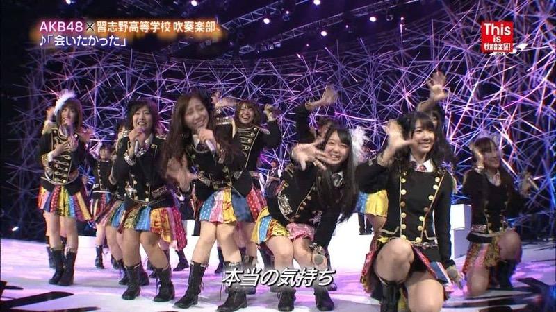 【AKB48放送事故画像】アイドルっていつでもどこでもエロいハプニングを期待されて大変だなぁw 40