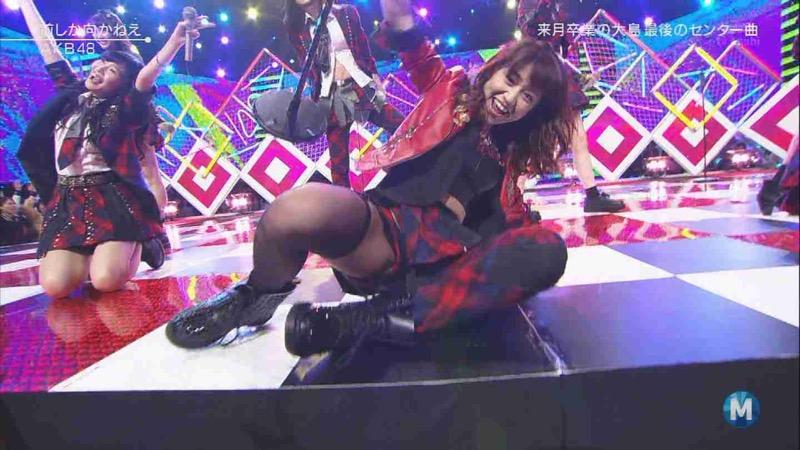 【AKB48放送事故画像】アイドルっていつでもどこでもエロいハプニングを期待されて大変だなぁw 62