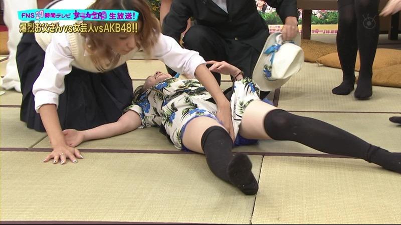【AKB48放送事故画像】アイドルっていつでもどこでもエロいハプニングを期待されて大変だなぁw 65