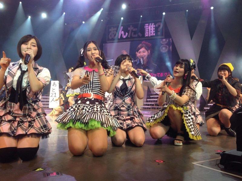 【AKB48放送事故画像】アイドルっていつでもどこでもエロいハプニングを期待されて大変だなぁw 80