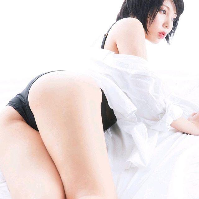 【安位薫エロ画像】自撮りが大好きなグラドルのムッチムチなHカップ爆乳ボディがめちゃシコい! 34