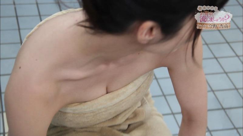 【温泉キャプ画像】橋本マナミがグラビアアイドルの背中を流しながら放送事故が起きそうなエロトークw 57