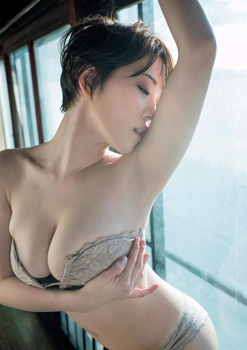 【忍野さらグラビア画像】Gカップグラドルがクイッと突き出したエロい美尻にザーメンぶっかけたい! 47