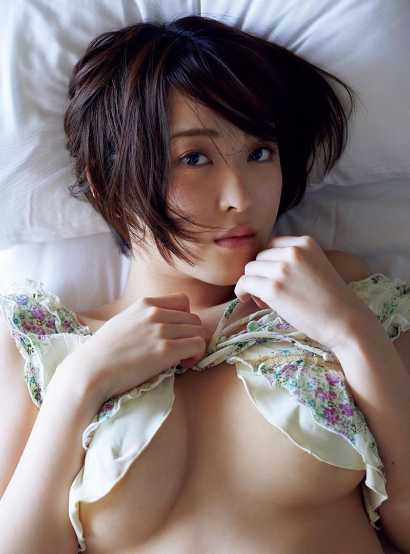 【忍野さらグラビア画像】Gカップグラドルがクイッと突き出したエロい美尻にザーメンぶっかけたい! 55