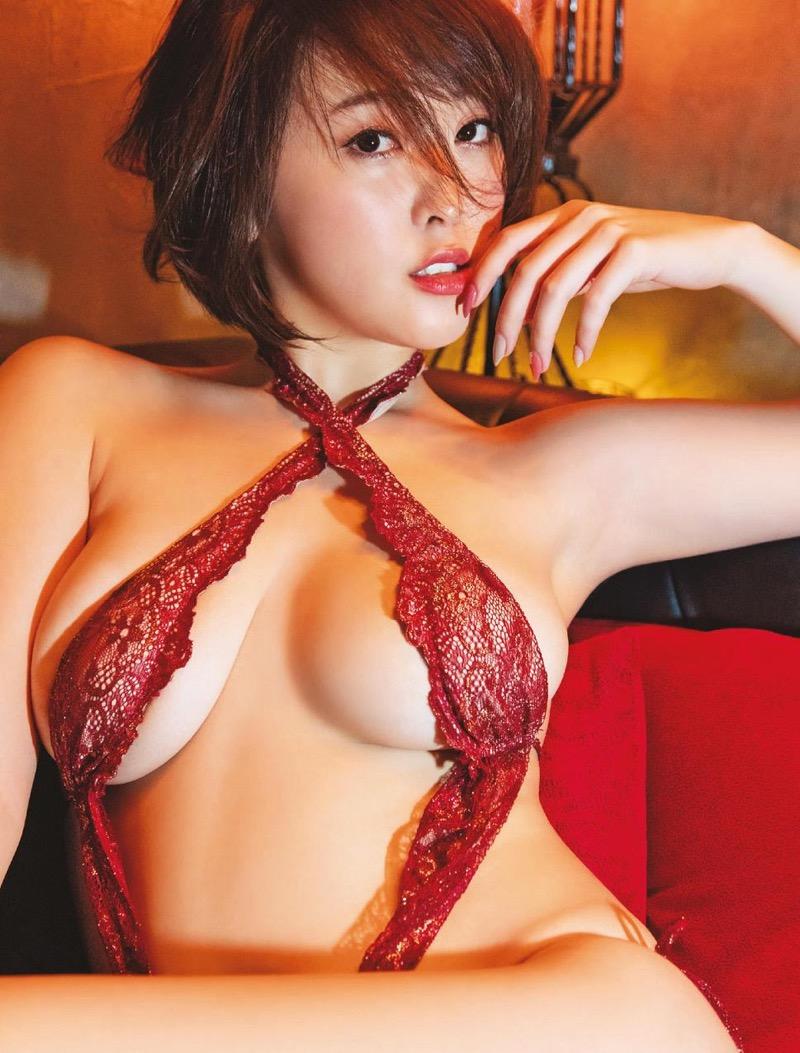 【忍野さらグラビア画像】Gカップグラドルがクイッと突き出したエロい美尻にザーメンぶっかけたい! 58
