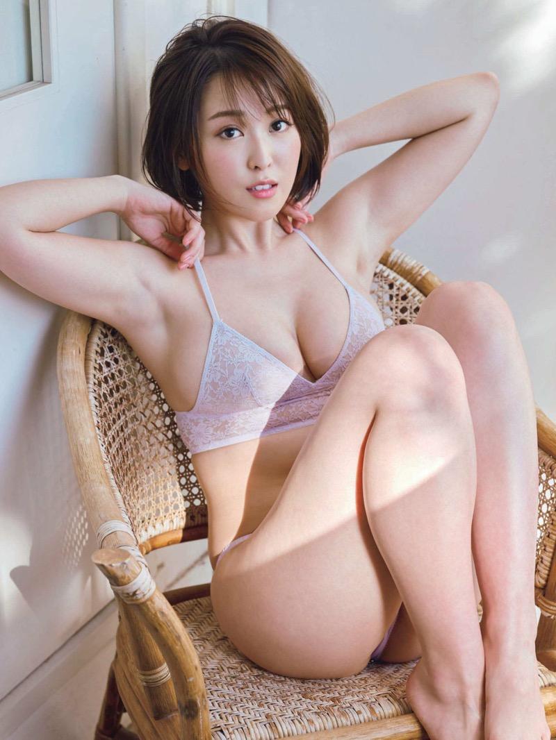 【忍野さらグラビア画像】Gカップグラドルがクイッと突き出したエロい美尻にザーメンぶっかけたい! 79