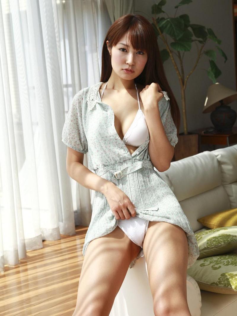 【仁藤みさきグラビア画像】折れそうな細い腰にHcup爆乳というギャップボディが激シコいスレンダー美女 45