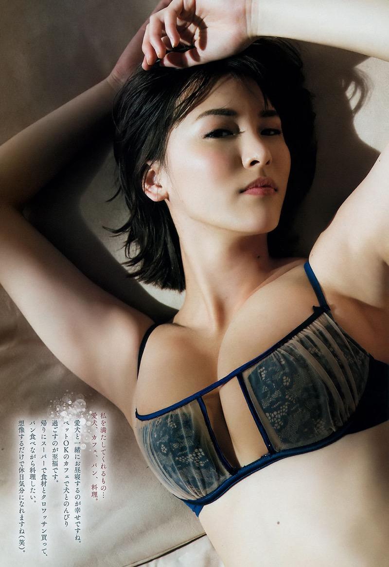 【奈月セナグラビア画像】モデル顔負けな長身にGカップ巨乳と巨尻のメリハリボディが激シコ! 52