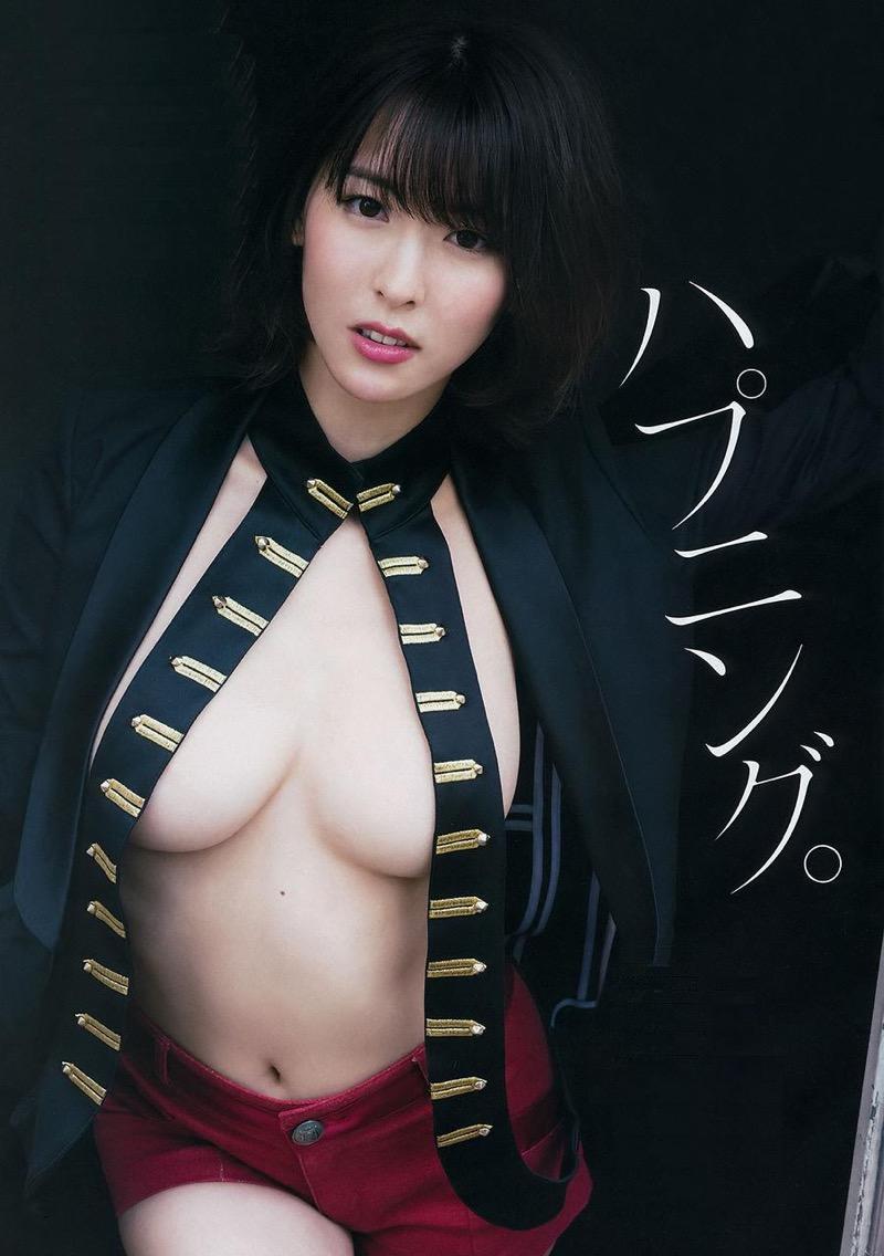 【奈月セナグラビア画像】モデル顔負けな長身にGカップ巨乳と巨尻のメリハリボディが激シコ! 62