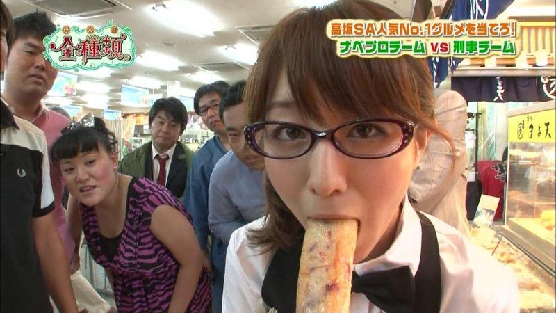 【放送事故フェラ画像】女子アナがテレビに映ってないところではこうやってチンポしゃぶってるのかなwwww 09
