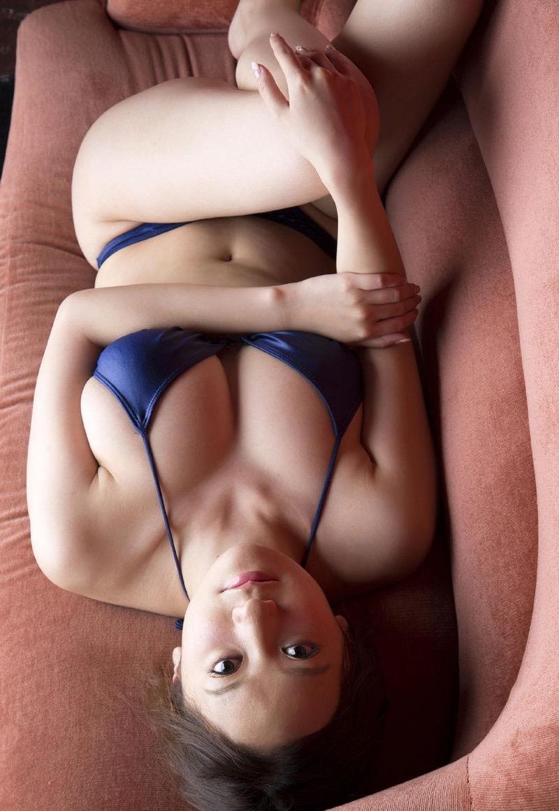 【葉月ゆめグラビア画像】マイクロビキニ着用での下乳モロ見えアングルがエロ過ぎてチンコ突っ込みたいw 36