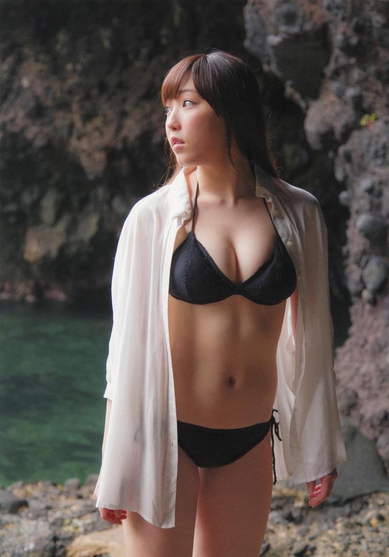 【譜久村聖グラビア画像】爽やかで時にセクシーなビキニ水着姿が眩しすぎるハロプロアイドル 19