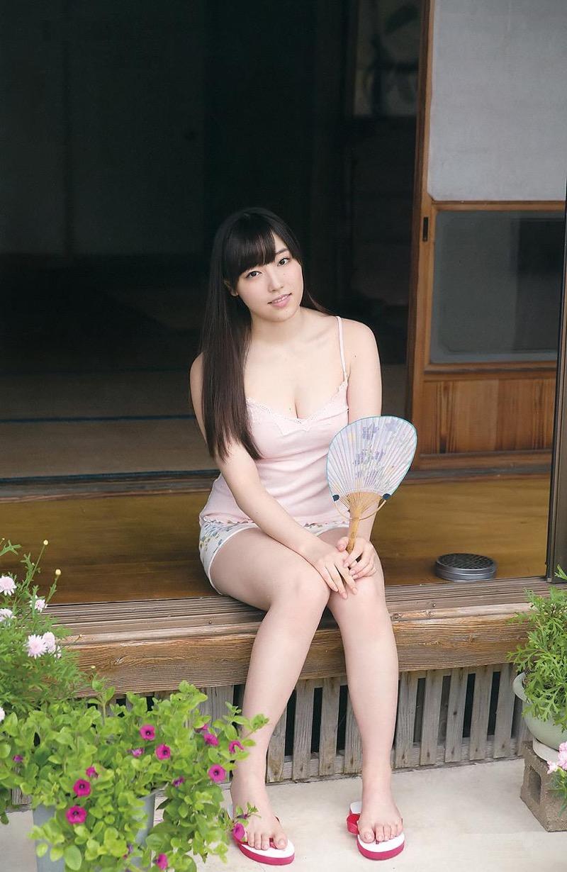 【譜久村聖グラビア画像】爽やかで時にセクシーなビキニ水着姿が眩しすぎるハロプロアイドル 20