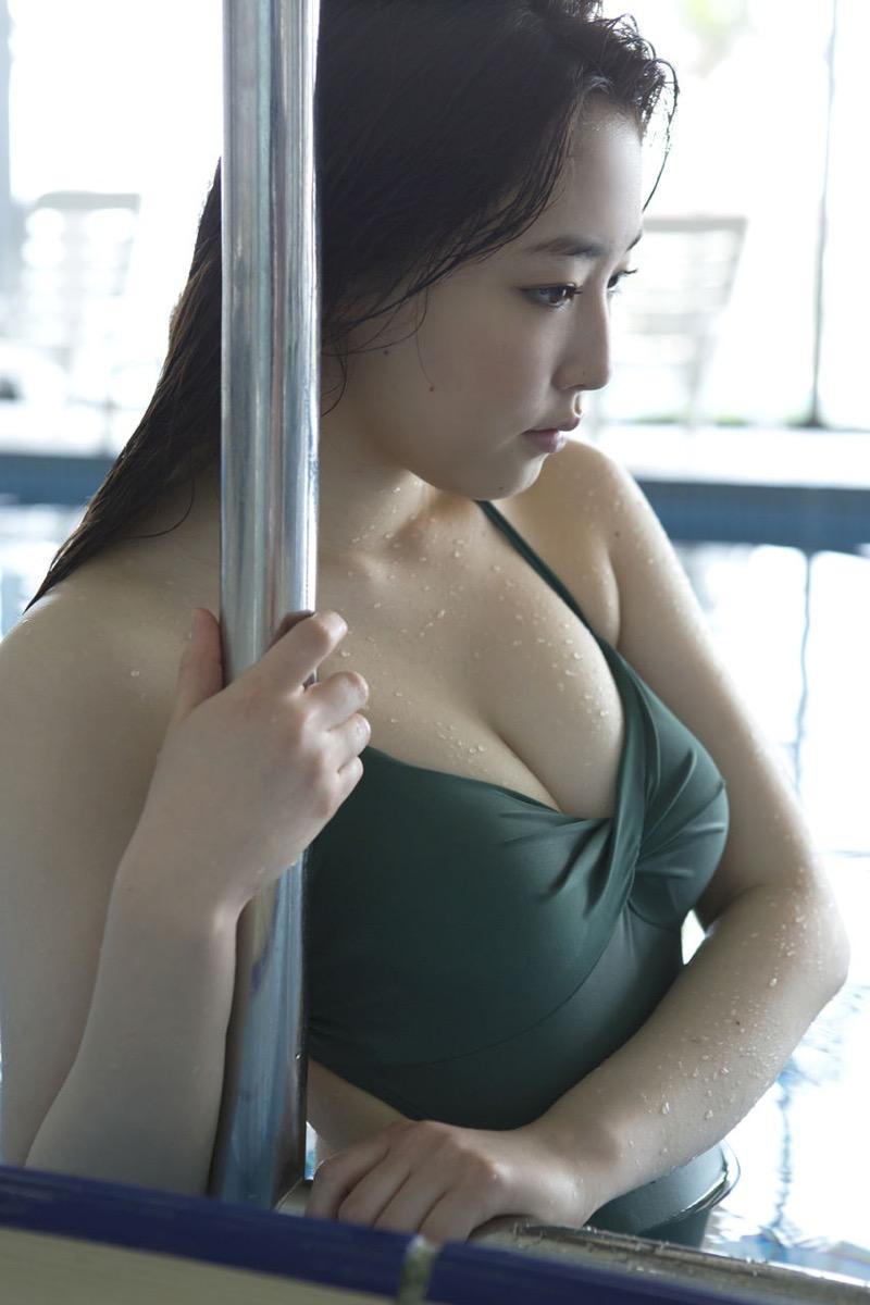 【譜久村聖グラビア画像】爽やかで時にセクシーなビキニ水着姿が眩しすぎるハロプロアイドル 42