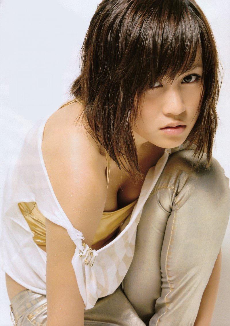 【前田敦子グラビア画像】女優業に意欲を見せている元AKB48アイドルが披露した現役時代の水着姿 48