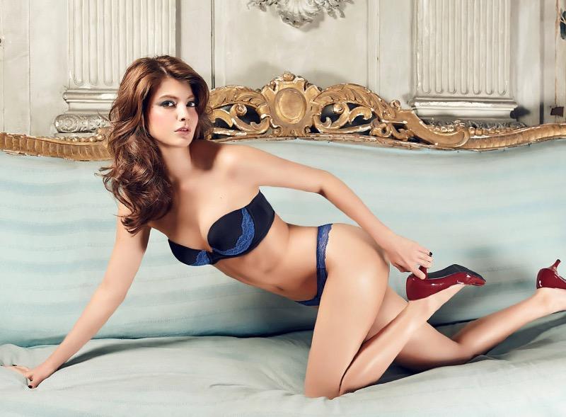 【マギーグラビア画像】高身長でスタイル抜群なハーフ美人モデルのセクシーなランジェリー姿 08