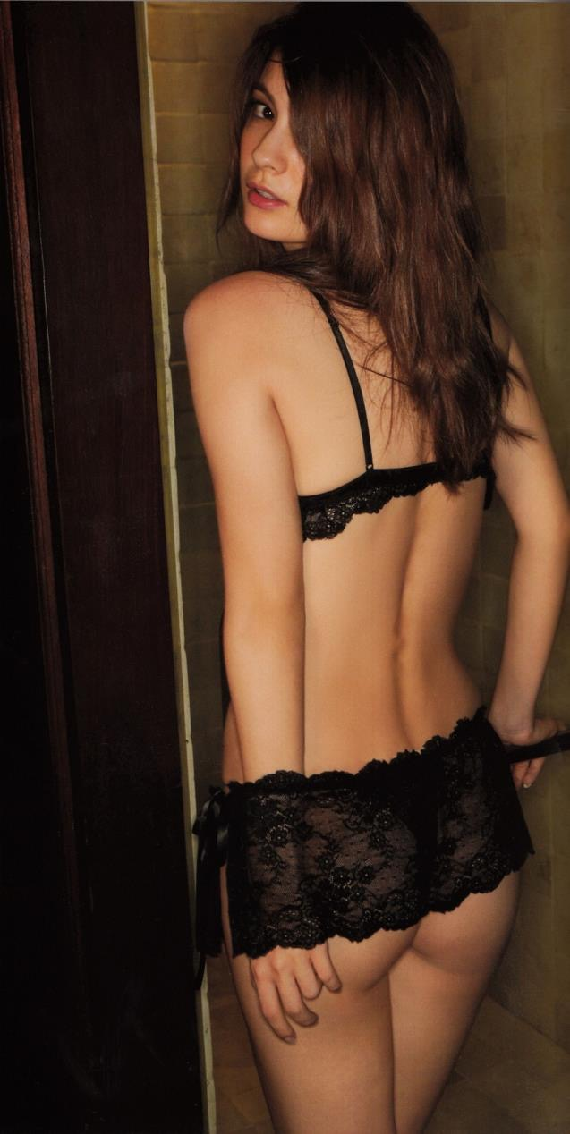 【マギーグラビア画像】高身長でスタイル抜群なハーフ美人モデルのセクシーなランジェリー姿 34