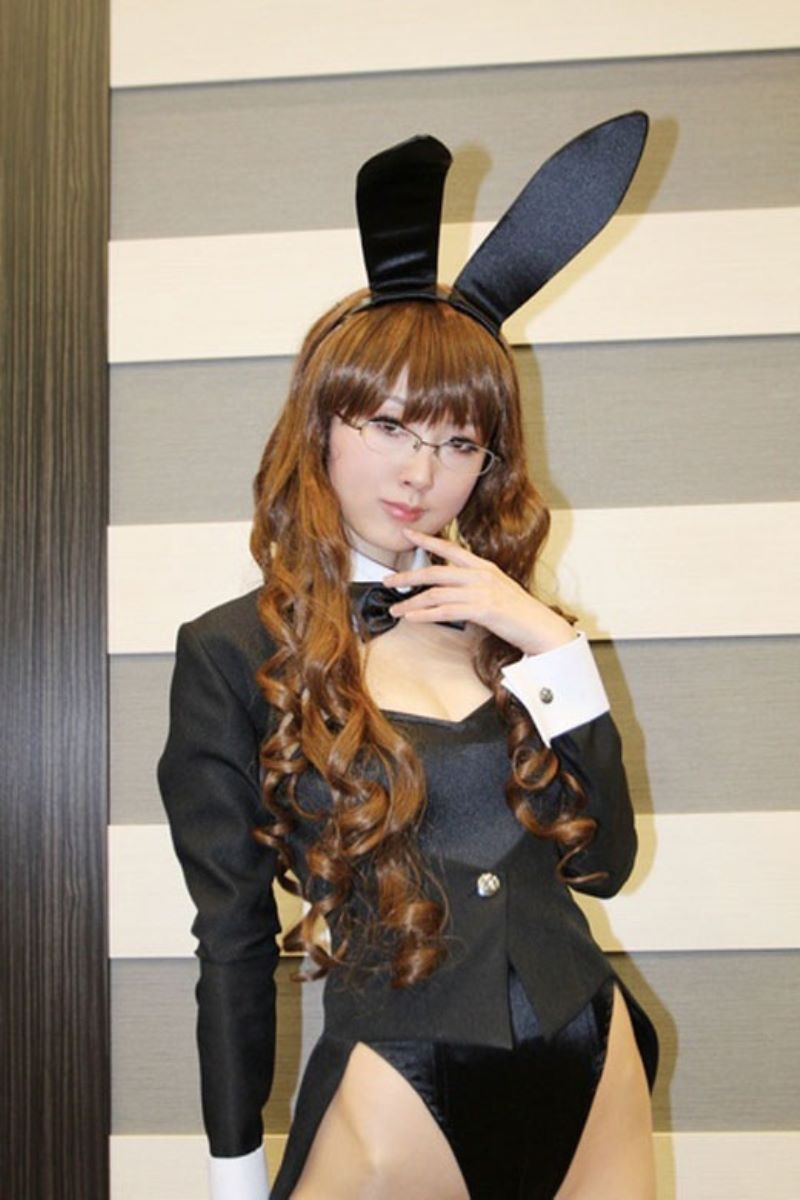 【バニーコスプレ画像】お耳がぴょこんと可愛らしくてセクシーなバニーコスプレ美女がエロい! 21