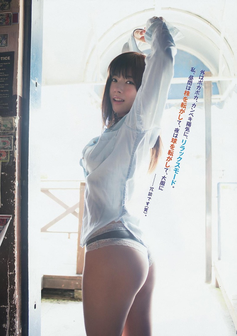 【松川佑依子エロ画像】女子大生やOLとして働きながらグラドルやってたEカップ巨乳美女 63