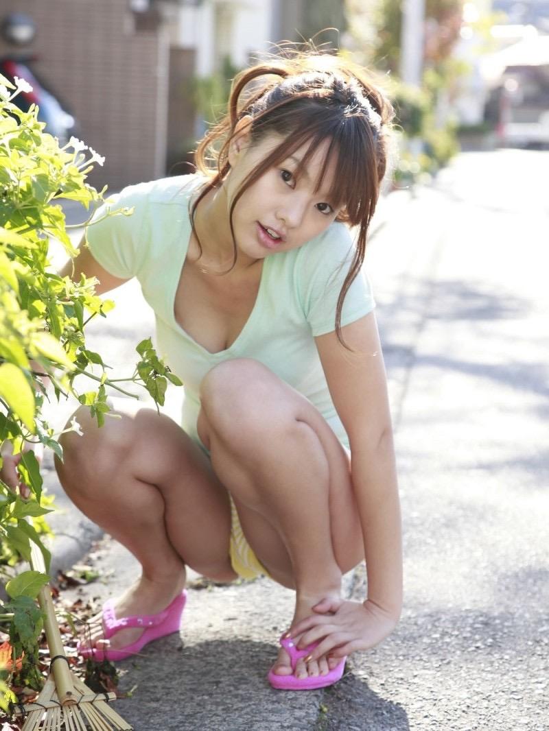 【松本さゆきグラビア画像】ぷっくりした厚めの唇が魅力的なGカップ巨乳のグラビアアイドル 07