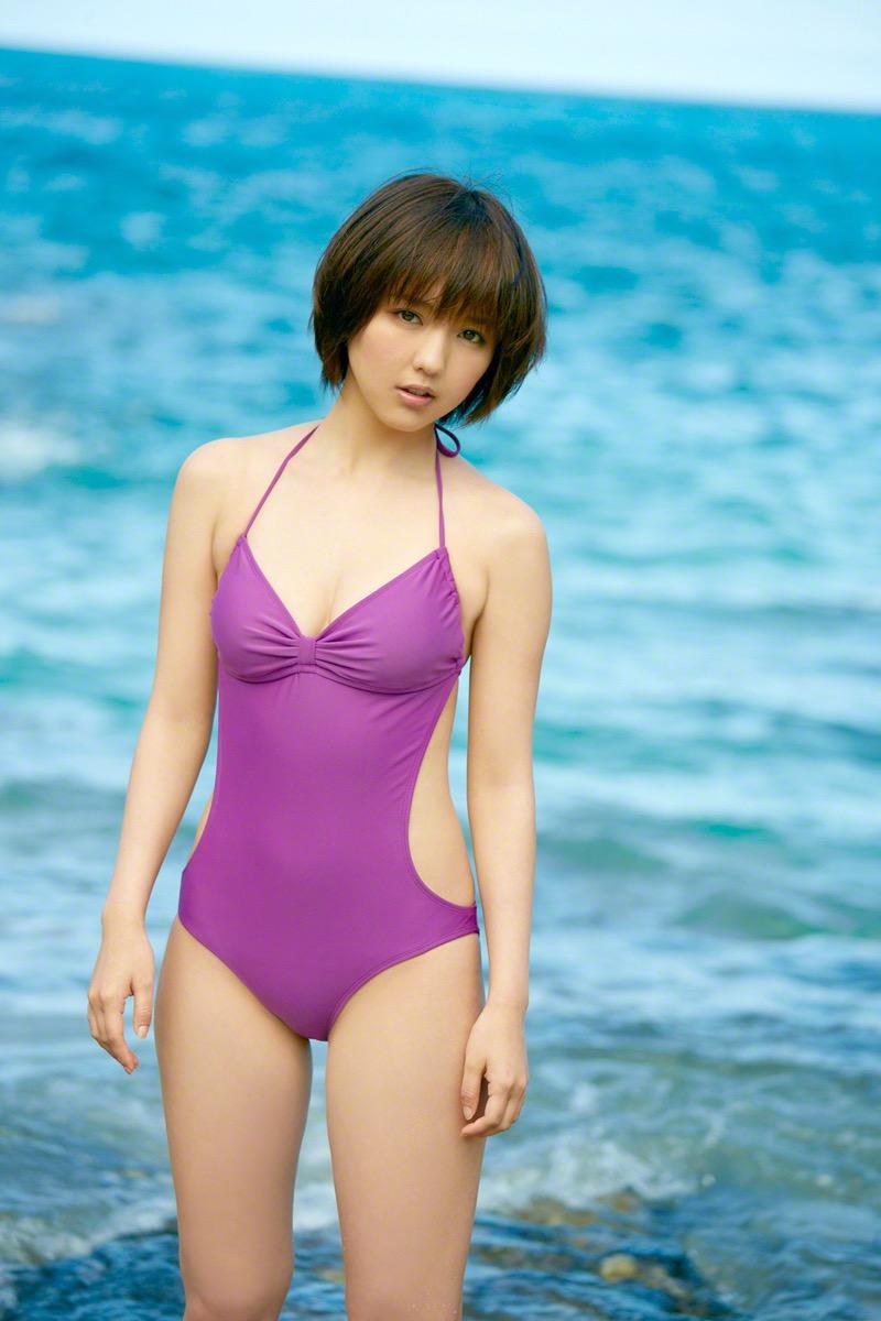 【真野恵里菜グラビア画像】元ハロプロ系アイドルのセクシーでちょっとエッチな水着姿! 12