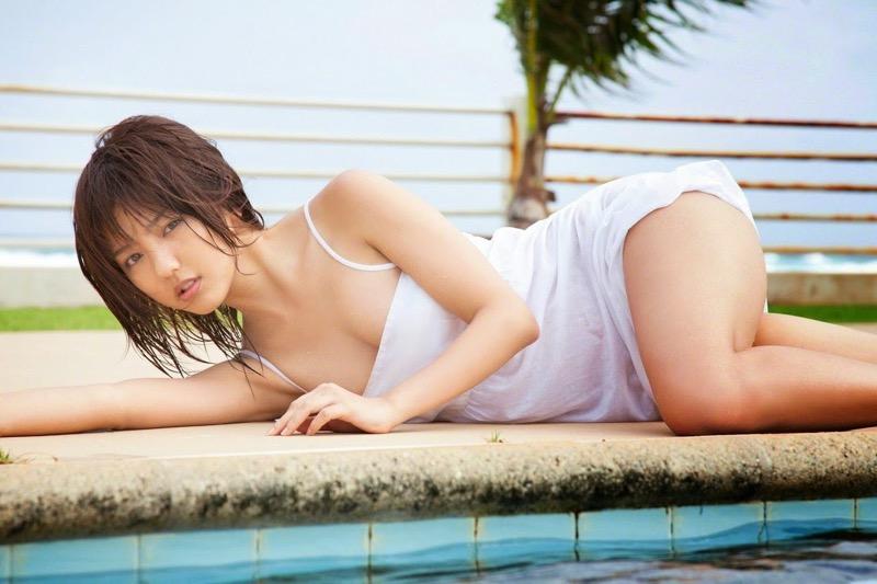 【真野恵里菜グラビア画像】元ハロプロ系アイドルのセクシーでちょっとエッチな水着姿! 75