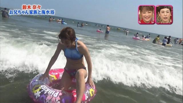 【放送事故画像】24時間テレビでおっぱいポロリしかけた鈴木奈々の大開脚が恥ずかし過ぎたwwww 06