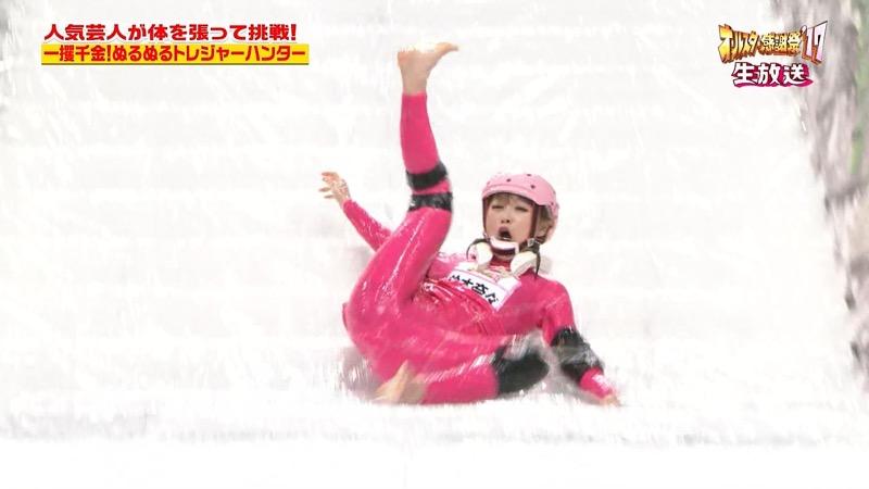 【放送事故画像】24時間テレビでおっぱいポロリしかけた鈴木奈々の大開脚が恥ずかし過ぎたwwww 27