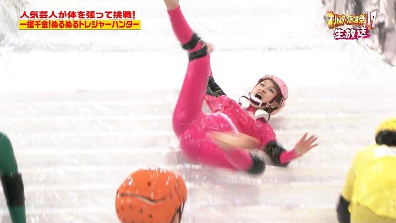 【放送事故画像】24時間テレビでおっぱいポロリしかけた鈴木奈々の大開脚が恥ずかし過ぎたwwww 29
