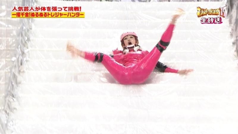 【放送事故画像】24時間テレビでおっぱいポロリしかけた鈴木奈々の大開脚が恥ずかし過ぎたwwww 32