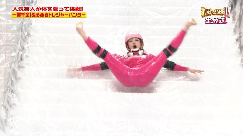 【放送事故画像】24時間テレビでおっぱいポロリしかけた鈴木奈々の大開脚が恥ずかし過ぎたwwww 33
