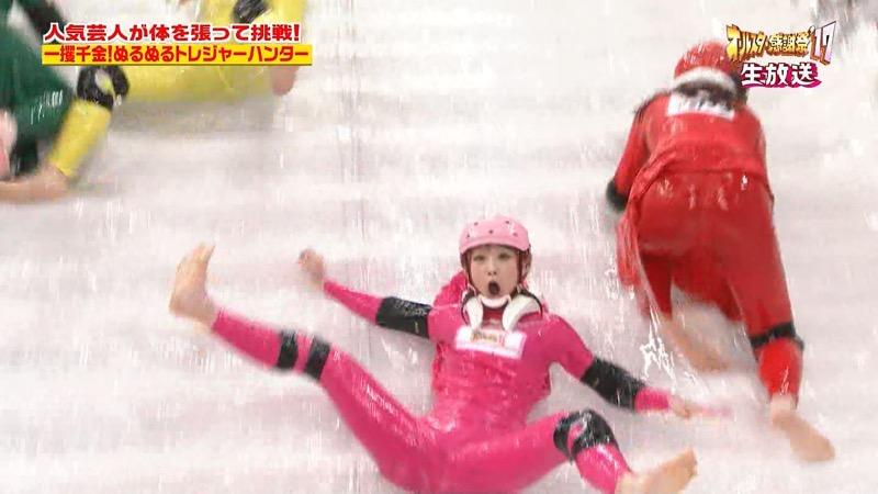 【放送事故画像】24時間テレビでおっぱいポロリしかけた鈴木奈々の大開脚が恥ずかし過ぎたwwww 34