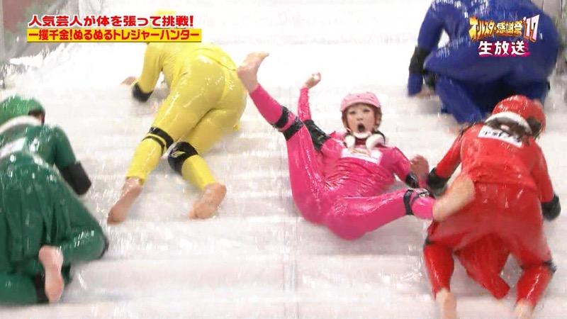 【放送事故画像】24時間テレビでおっぱいポロリしかけた鈴木奈々の大開脚が恥ずかし過ぎたwwww 35